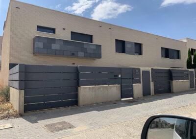 3 viviendas unifamiliares Tudela 2016