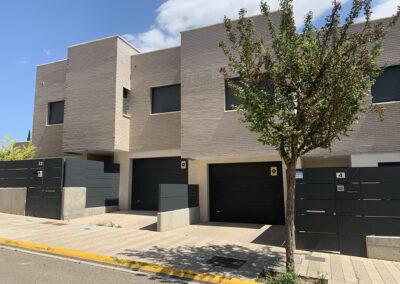 3 viviendas unifamiliares Tudela 2018